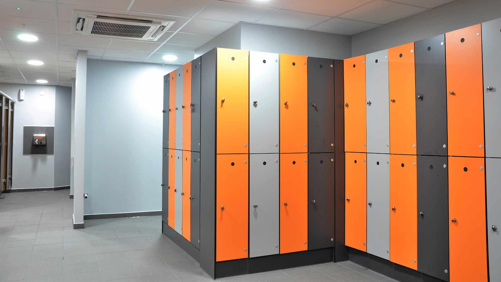 10 Tier Steel Locker Lockers Dublin School Lockers