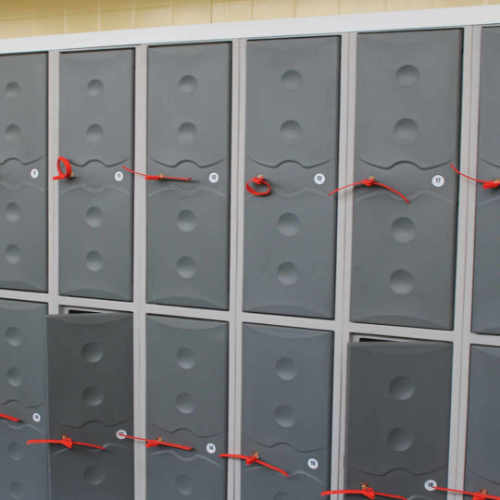 Staff Lockers, 6
