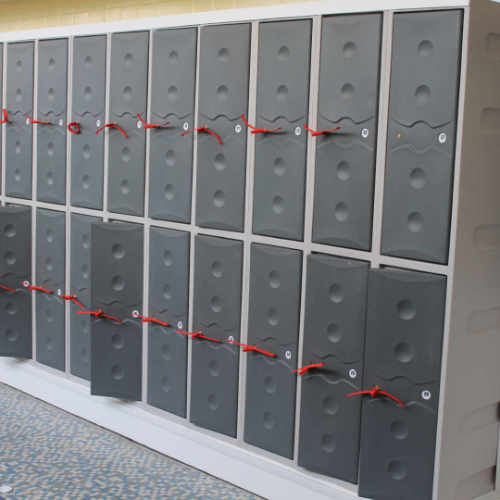 Staff Lockers, 3