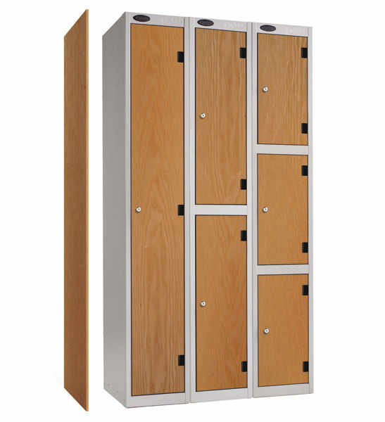 twin and two person lockers