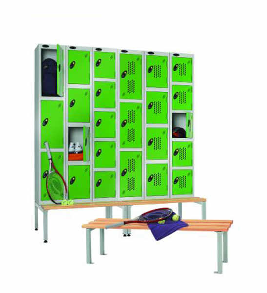 steel leisure lockers