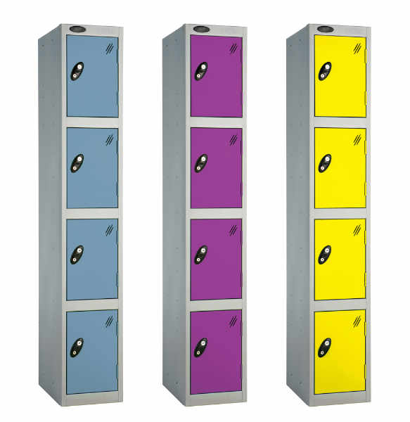 4 Tier Heavy Duty School Locker
