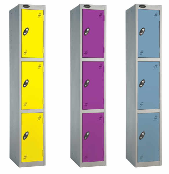 3 Tier Heavy Duty School Locker