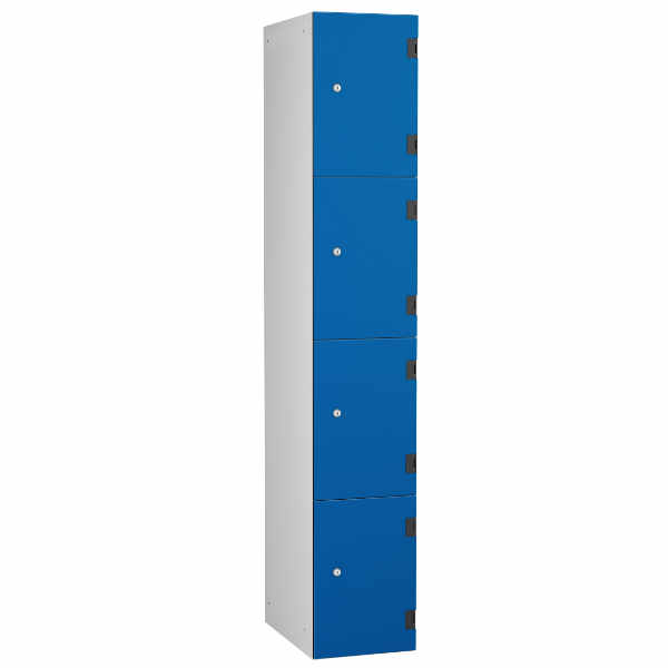 4 Tier Shockbox School Locker - 1