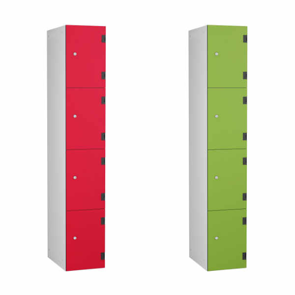 4 Tier Shockbox School Locker - 3